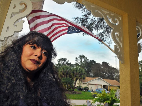 Widow Judy Troche, of Palm Bay.