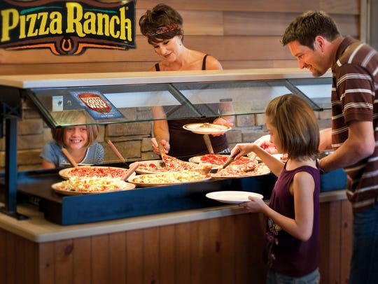 A recent publicity photo from Pizza Ranch, an Iowa-based