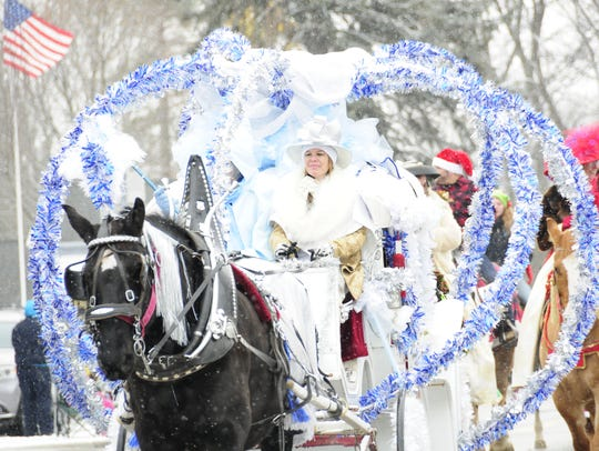 A Cinderella coach was in Lexington's Old Fashioned