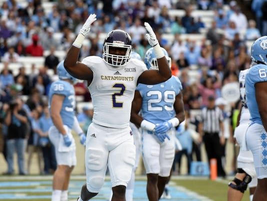 NCAA Football: Western Carolina at North Carolina