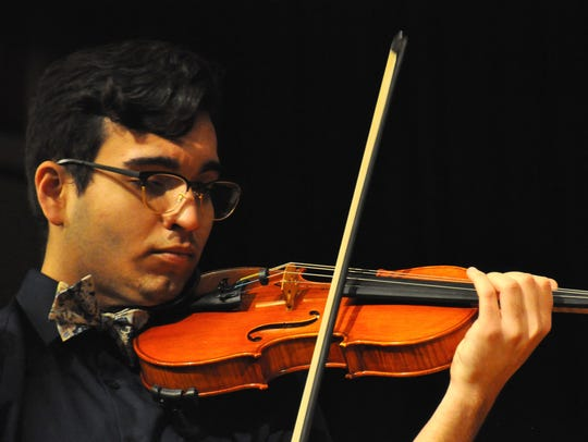 Violinist Beau Reitz will perform with the Salem Pops