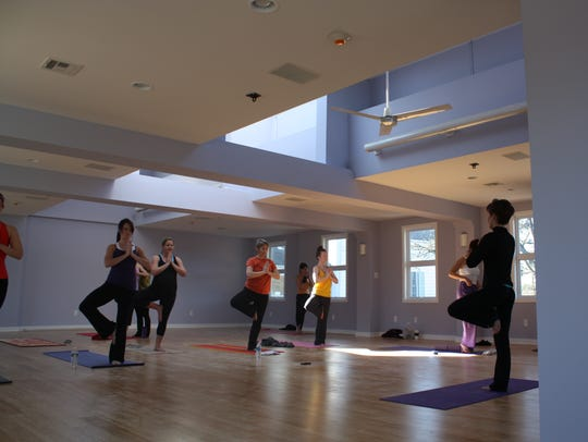 Yoga teacher Shannon Hurley, who will lead the two-hour
