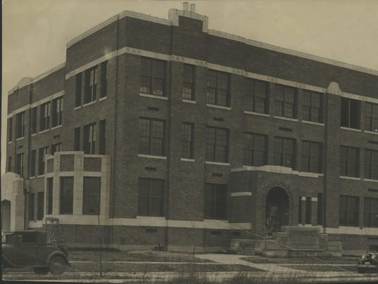 1930 Press Photo The Roosevelt school in Wauwatosa, Wisconsin