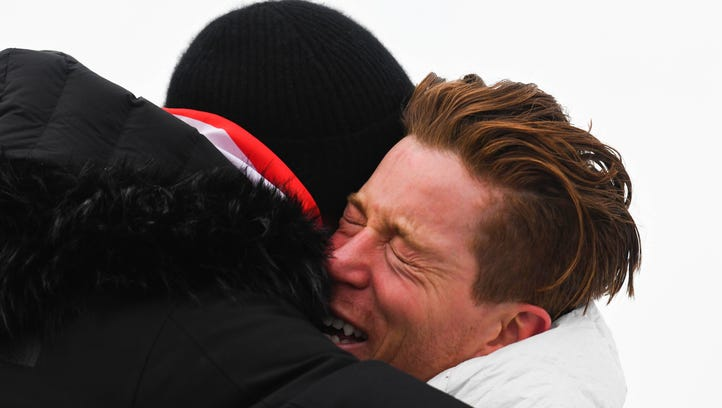 Shaun White's dad says he had never seen his son cry, until now