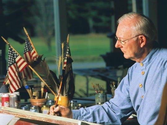 Warren Kimble in his studio (00000002)