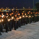 Photos: Candlelight tribute for Kevin Stanton of BCSO