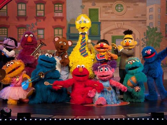 Sesame Street Live: Elmo Makes Music comes to U.S.