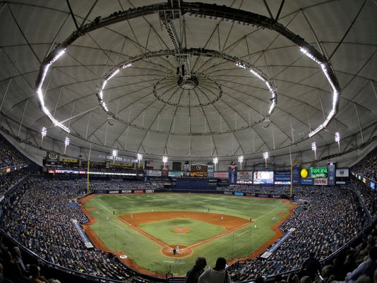 AP RAYS ATHLETICS NEW BALLPARKS BASEBALL S BBA FILE USA FL