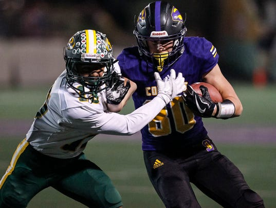 CCS Football: Salinas vs. Placer