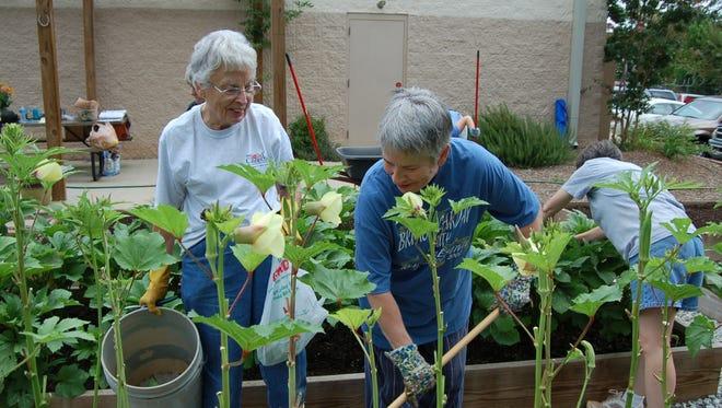 Helping out at a community garden is one of the ways to make learning memorable and fun.