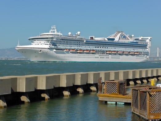 Photo Tour The Elegance Of A Princess Ship - Columbo cruise ship