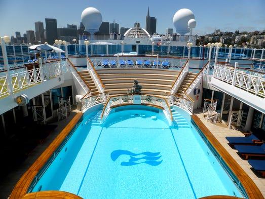 Photo Tour The Elegance Of A Princess Ship