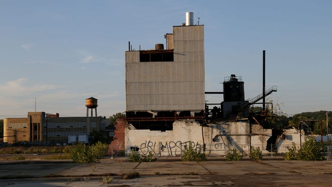 The power plant on the old Westinghouse property is slated for demolition. Owners of the property have been talking with the Environmental Protection Agency and city officials about demolition plans.