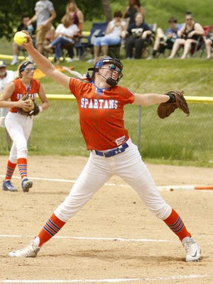 Bella Willsey pitched a one-hitter for Edison in a 1-0 win over Elmira Notre Dame on Saturday in the Section 4 Class C final at the BAGSAI Complex.