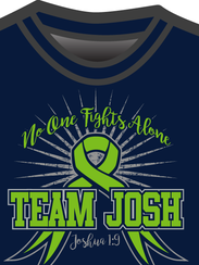 Get your Team Josh tees at gofundme.com/bbcnxo.