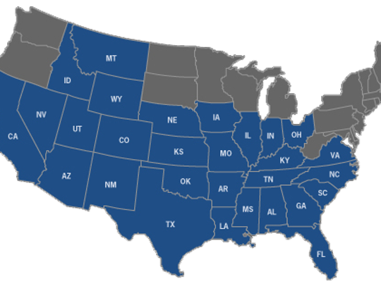 Dillard's operates in 29 states. Its closest stores
