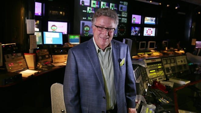 CEO Norm Silverstein stands inside master control at WXXI Studios, 280 State St., in downtown Rochester Friday, Sept. 2, 2016. The station's first show went on the air on Sept. 6, 1966.