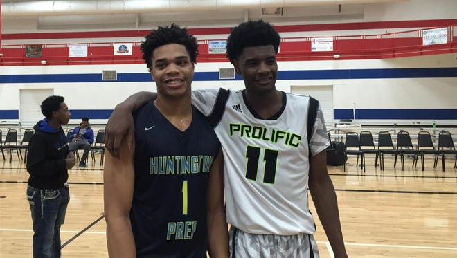 Miles Bridges and Josh Jackson