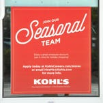 Many businesses and stores are looking to hire people for the holiday season. Kohl's and Target have ads on their front doors for holiday employment. The Halloween merchandise is out at the Viera Super Target and Gabriel Rubio, sales team member, was checking stock on some early Christmas lights that are out.