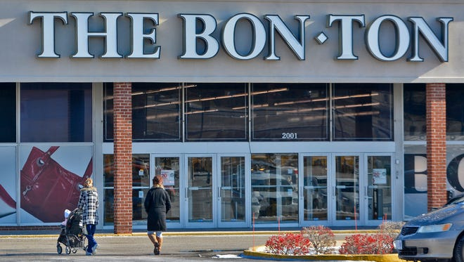 The future of Bon-Ton Stores looks tenuous after the department store chain filed for bankruptcy protection, Monday, Feb. 5, 2018. John A. Pavoncello photo