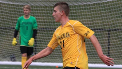 Asheville High alum Zach Joens played his freshman season of college soccer for Appalachian State but is now at UNC Asheville.