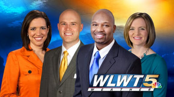 WLWT-TV weather team