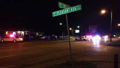 Four people were injured in a shooting at a birthday party.