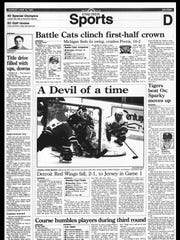 BC Sports History - Week of June 18, 1995