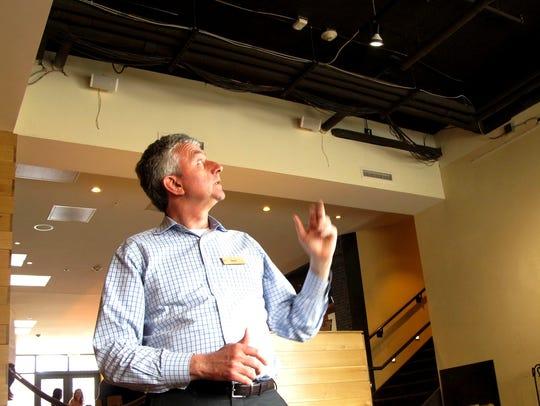 Hotel Vermont General Manager Hans van Wees stands