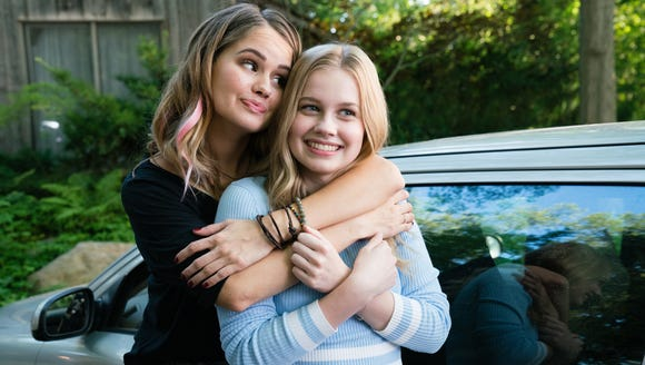 Debby Ryan (left) plays the wild-child sister of Angourie