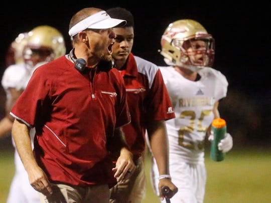 Coach Will Kriesky is 10-7 in a season and a half at Riverdale.