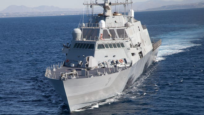The littoral combat ship USS Fort Worth.
