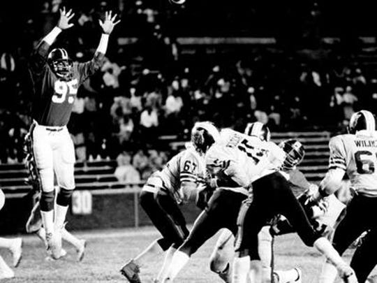 Former TSU defensive end Richard Dent, 95, will be inducted into the Black College Football Hall of Fame in 2015.