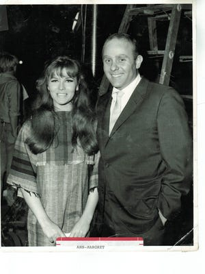 This photo of Hollywood publicist David Mirisch and Ann-Margret is among those Mirisch will discuss Aug. 8 at the Museum of Ventura County in Ventura.