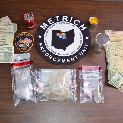 Officers with the METRICH drug-enforcement task force