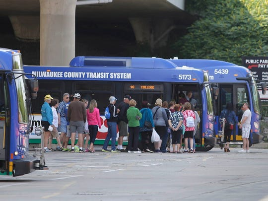 Milwaukee County Transit System will make available buses during the 2020 Democratic National Convention.