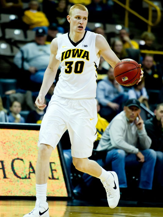 NCAA Basketball: North Dakota State at Iowa
