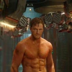 Chris Pratt in Guardians of the Galaxy
