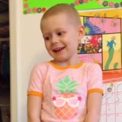 Hannah Higgins explains chemo, radiation, and how she stays brave through cancer treatment.