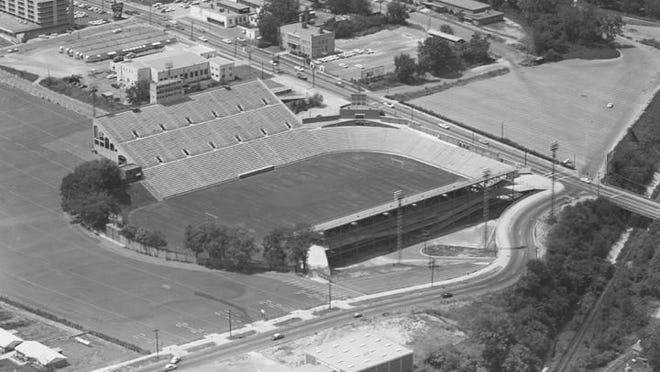 Cramton Bowl circa 1964. (Alabama Department of Archives and History)