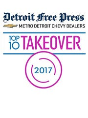 Detroit Free Press/Metro Detroit Chevy Dealders Restaurant of the Year logo.