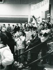 Corner Crew and RIT Cheerleaders ca 1980's