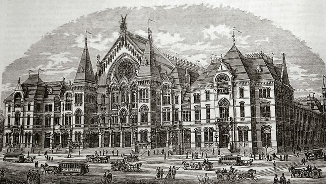 Music Hall, in 1879