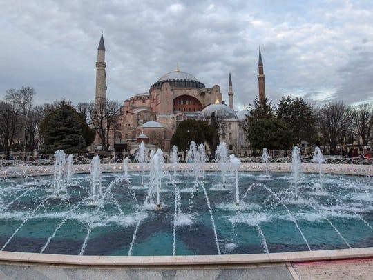 The Hagia Sophia Museum in Istanbul