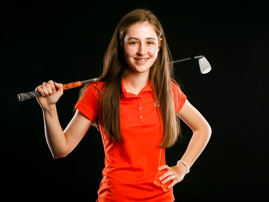 Sprague golf player Quincy Beyrouty for the Statesman Journal Sports Awards on Friday, May 19, 2017.