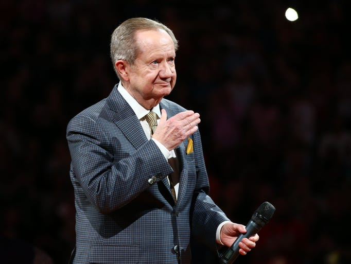 Longtime Suns announcer Al McCoy became the 15th member