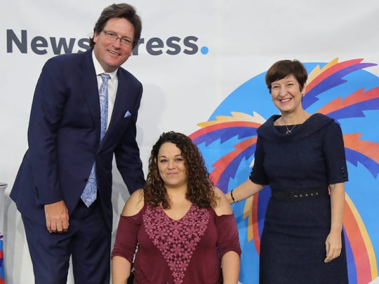 Danielle Hagmann was named The News-Press Hero of the