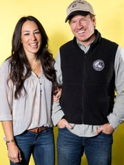 """""""We loved this idea of connecting with people in a different way, telling other people's stories, curating content,"""" says Joanna Gaines of her and Chip's new Discovery cable network, coming in 2020."""