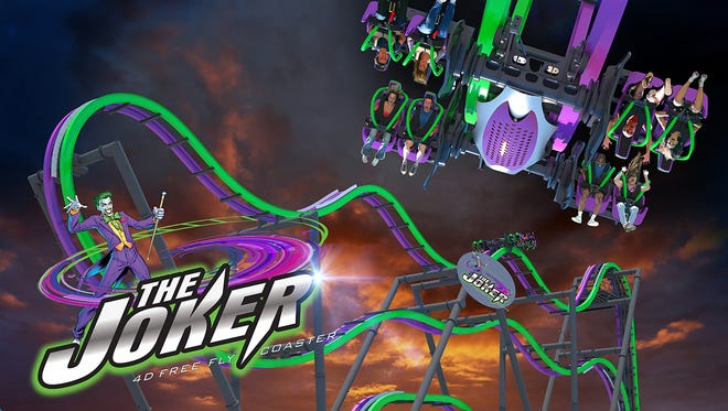 The Joker is getting his own ride at Six Flags Great Adventure this spring.