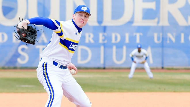 Mark Burnside (York Catholic) has played a key role for Limestone College as both a starter and reliever.